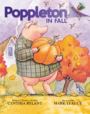 Poppleton in Fall: An Acorn Book (Poppleton #4) (Library Edition) Cover Image