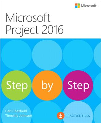 Microsoft Project 2016 Step by Step Cover Image