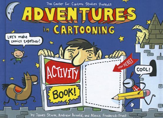 Adventures in Cartooning Cover Image