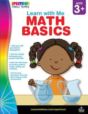 Math Basics, Ages 3 - 6 (Learn with Me) Cover Image