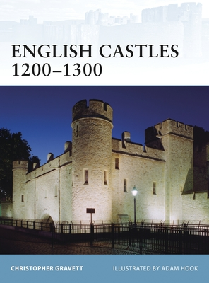 English Castles 1200-1300 Cover Image
