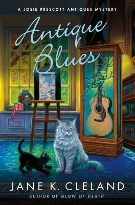 Antique Blues: A Josie Prescott Antiques Mystery (Josie Prescott Antiques Mysteries #12) Cover Image