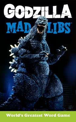 Godzilla Mad Libs Cover Image