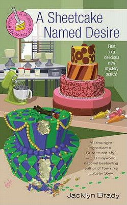 A Sheetcake Named Desire (Piece of Cake Mysteries) Cover Image