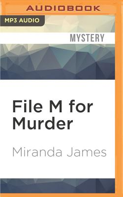 File M for Murder (Cat in the Stacks Mysteries #3) Cover Image