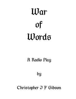 War of Words: A play for radio Cover Image