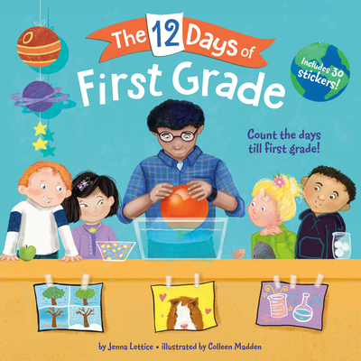 Cover for The 12 Days of First Grade