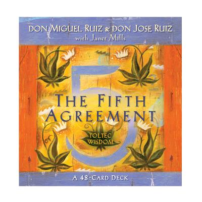 The Fifth Agreement: A 48-Card Deck, plus Dear Friends card Cover Image