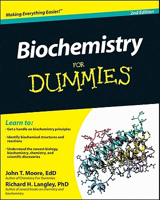Biochemistry for Dummies Cover Image