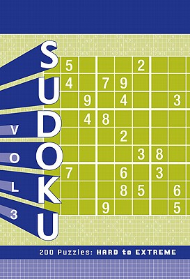 Sudoku 3: 200 Puzzles: Hard to Extreme Cover Image