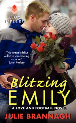 Blitzing Emily: A Love and Football Novel Cover Image