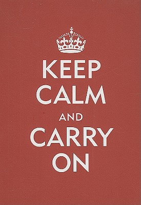 Keep Calm and Carry on Journal [With Elastic Band Place Holder] Cover Image