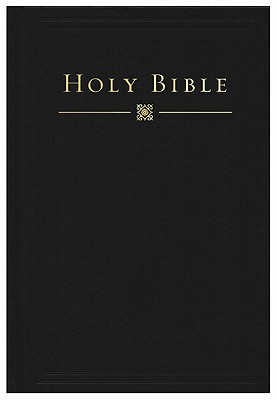 HCSB Pew Bible (Black Hardcover) Cover