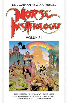 Cover for Norse Mythology Volume 1 (Graphic Novel)