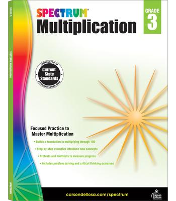 Spectrum Multiplication, Grade 3 Cover Image