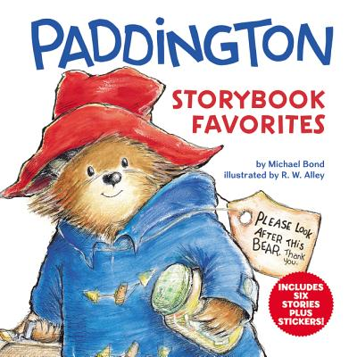 Paddington Storybook Favorites: Includes 6 Stories Plus Stickers! cover
