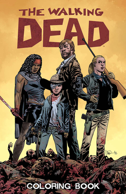 The Walking Dead Coloring Book Cover