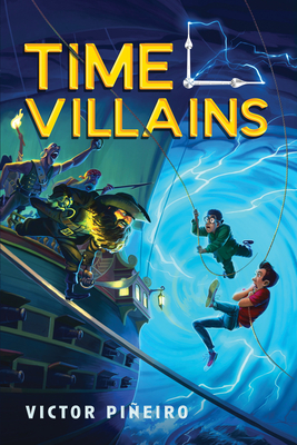 Cover for Time Villains