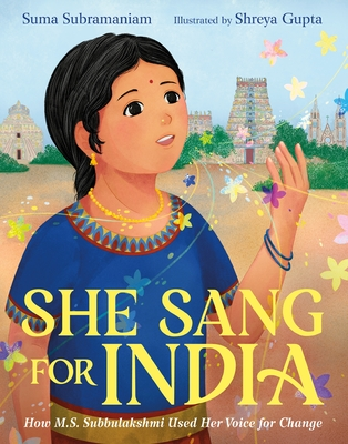 Cover for She Sang for India
