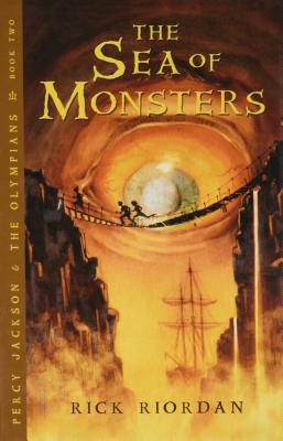 The Sea of Monsters (Percy Jackson and the Olympians #2) Cover Image