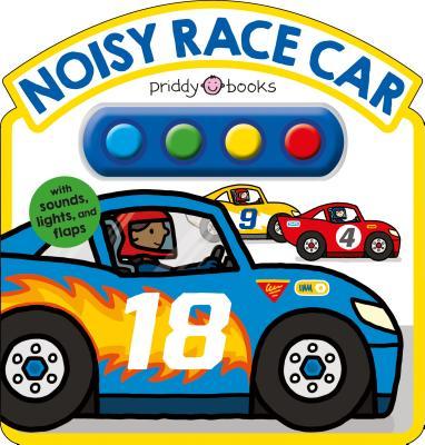 Noisy Race Car Sound Book Cover Image