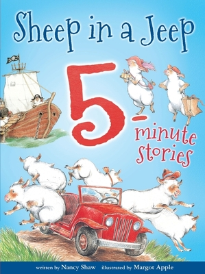 Sheep in a Jeep 5-Minute Stories Cover Image