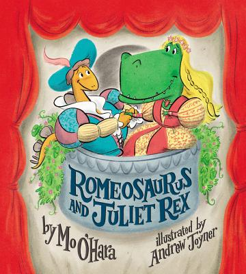 Romeosaurus and Juliet Rex by Mo O'Hara