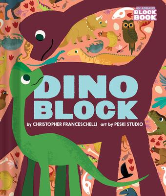 Dinoblock (An Abrams Block Book) Cover Image