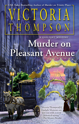 Murder on Pleasant Avenue (A Gaslight Mystery #23) Cover Image