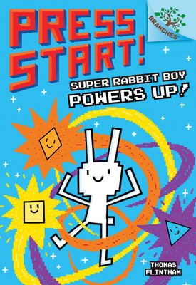 Super Rabbit Boy Powers Up! A Branches Book (Press Start! #2) Cover Image