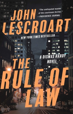 The Rule of Law: A Novel (Dismas Hardy #18) Cover Image