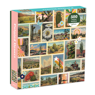 Painted Desert 500 Piece Puzzle Cover Image