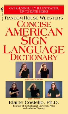 Random House Webster's Concise American Sign Language Dictionary Cover