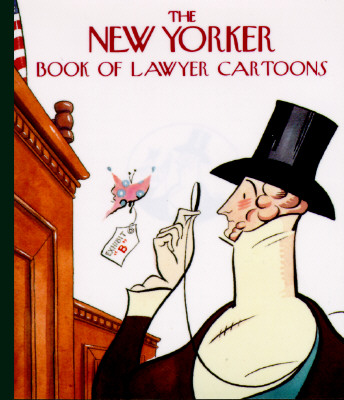 The New Yorker Book of Lawyer Cartoons Cover