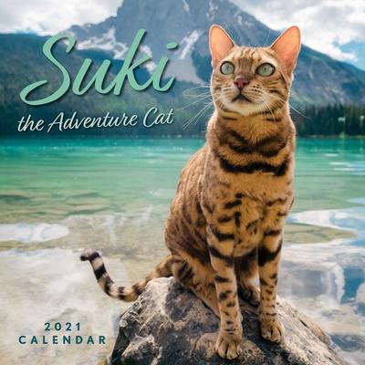 Suki the Adventure Cat 2021 Wall Calendar Cover Image