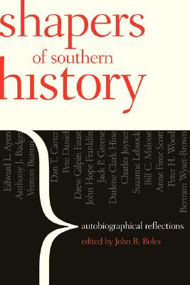 Shapers of Southern History Cover