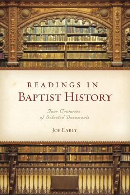 Readings in Baptist History Cover