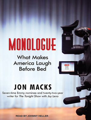 Monologue: What Makes America Laugh Before Bed Cover Image