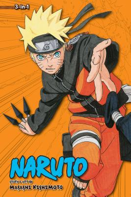 Naruto (3-in-1 Edition), Vol. 10 cover image