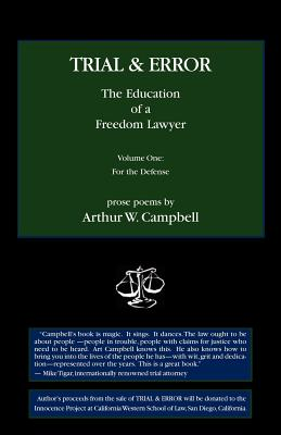 Trial & Error: The Education of a Freedom Lawyer, Vol. I Cover Image