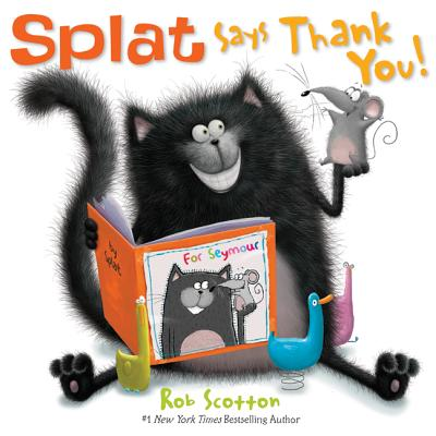 Splat Says Thank You! (Splat the Cat) Cover Image