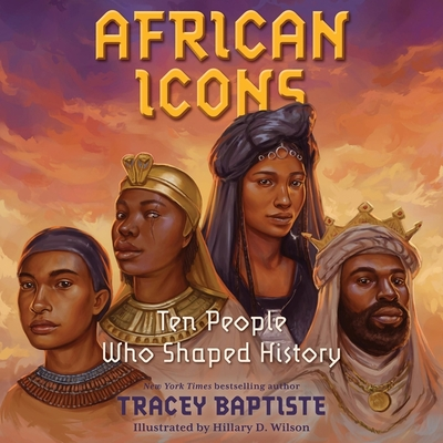 Cover for African Icons