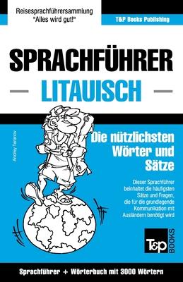 Sprachführer Deutsch-Litauisch und thematischer Wortschatz mit 3000 Wörtern Cover Image
