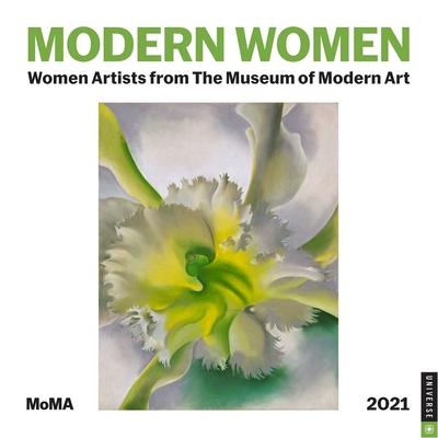 Modern Women 2021 Wall Calendar: Women Artists from the Museum of Modern Art Cover Image