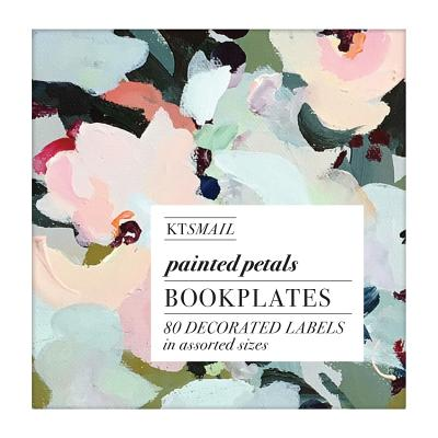 Painted Petals Book of Labels Cover Image
