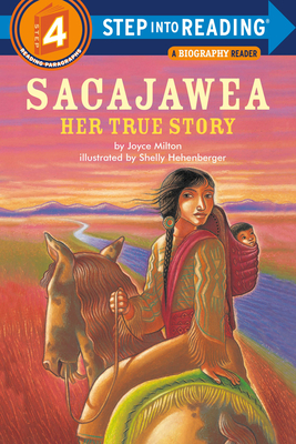 Sacajawea: Her True Story (Step into Reading) Cover Image