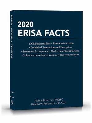 2020 Erisa Facts Cover Image