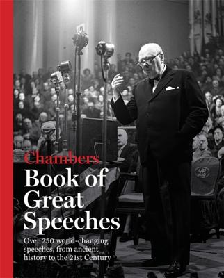Chambers Book of Great Speeches Book Cover Image