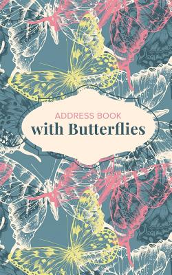 Address Book with Butterflies Cover Image