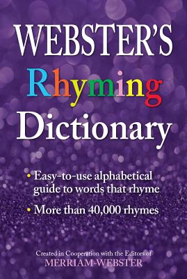 Webster's Rhyming Dictionary Cover Image